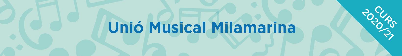 Unió Musical Milamarina - Descomptes matrícula